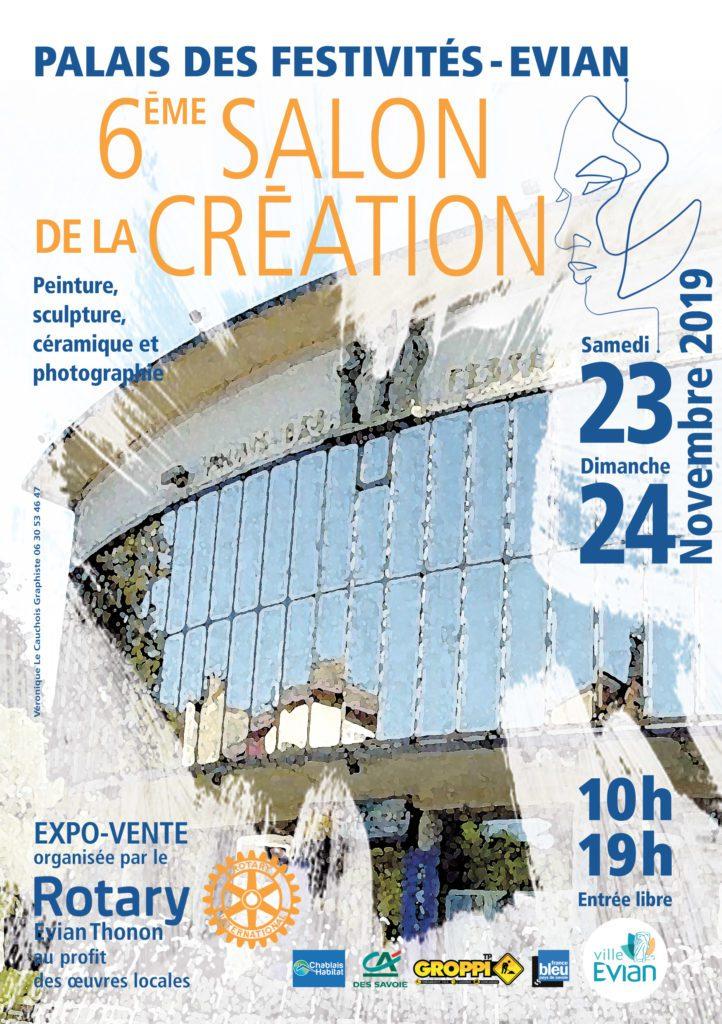 6ème Salon de la Création | Evian (74) – Palais des festivités